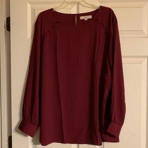 Loft Plus blouse size 26